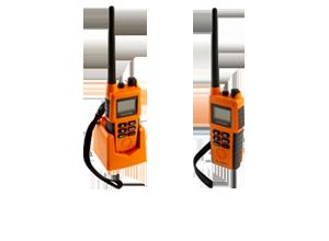 Rádios de VHF de Emergência