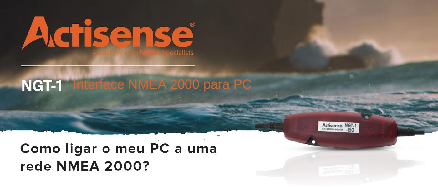 How do I interface my PC with NMEA 2000?