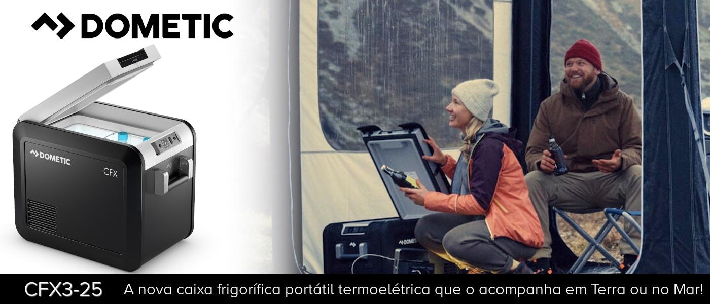DOMETIC APRESENTA NOVO MODELO COMPACTO DA CAIXA FRIGORÍFICA MÓVEL DE ALTA QUALIDADE CFX3 25