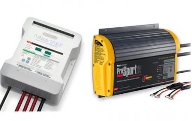 A Nautiradar alarga o seu portefólio de carregadores de baterias com a marca PROMARINER