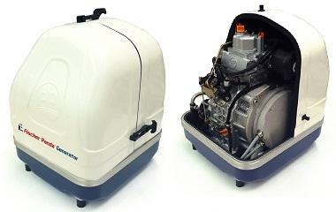 Fischer Panda apresenta o novo gerador a diesel de velociadade variável - Panda 5000i Neo DA SÉRIE-i