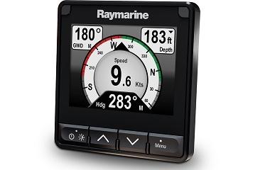 Raymarine lança a nova versão do popular Display de Instrumentação Multifunções a cores i70 com a introdução do i70s