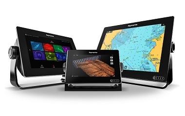 Raymarine lança a nova Gama de Displays Multifunções Axiom com sonda RealVision 3D e LightHouse 3