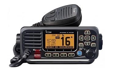 Rádio Fixo de VHF IC-M330E / GE – Desempenho Ultra num Design Ultracompacto