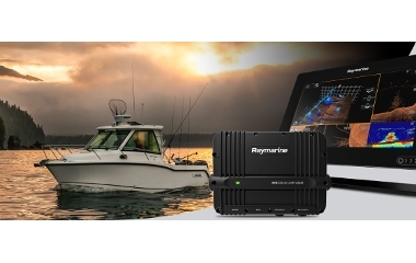 Raymarine apresenta o novo módulo de sonda CHIRP 3D de elevado desempenho RVX1000