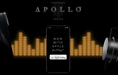 A perfeição torna-se ainda melhor com o serviço de stream Airplay da Apple para a Série Apollo