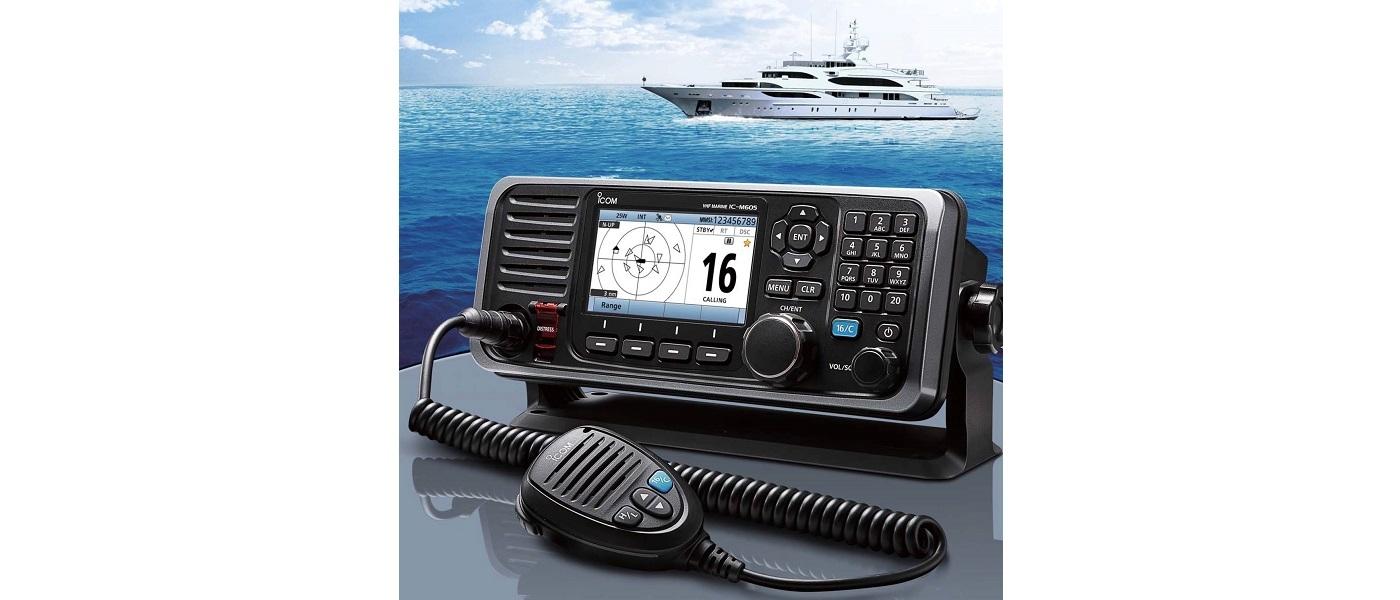 IC-M605 da ICOM vence Prémio NMEA de Melhor Rádio de VHF Marítimo pelo Segundo Ano Consecutivo