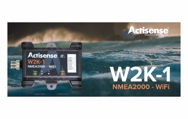 Actisense lança dispositivo revolucionário de ligação Wi-Fi/N2K com armazenamento de dados