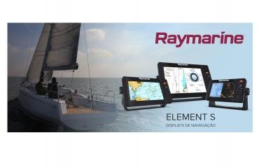 FLIR apresenta os Displays de Navegação Element S da Raymarine