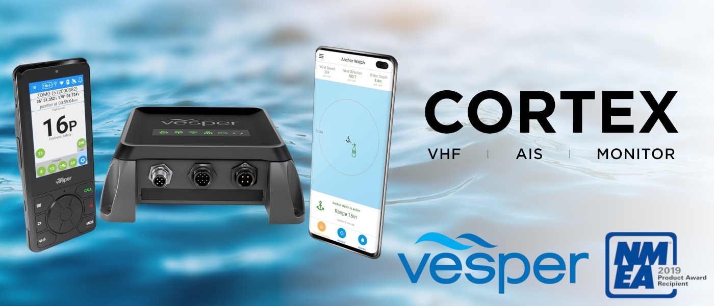 VHF-Reimagined – Vesper Marine Announces Cortex