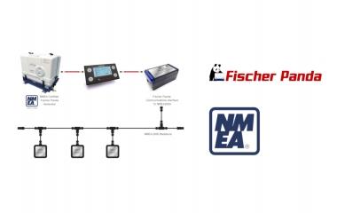 Fischer Panda is NMEA 2000 certified