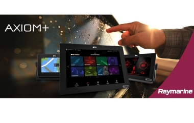 FLIR Introduces Raymarine Axiom+ Multifunction Navigation Displays and New Electronic Chart Catalog