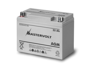 AGM 12/55 - 12V / 55 Ah AGM Battery