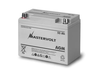 AGM 12/55 - Bateria AGM 12V / 55 Ah