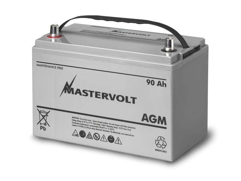 AGM 12/90 - 12V / 90 Ah AGM Battery