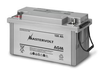 AGM 12/130 - Bateria AGM 12V / 130 Ah