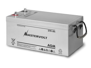 AGM 12/270 - Bateria AGM 12V / 270 Ah