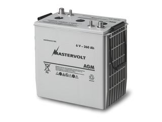 AGM 6/260 - 6V / 260 Ah AGM Battery