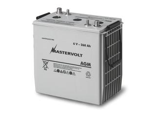 AGM 6/260 - Bateria AGM 6V / 260 Ah