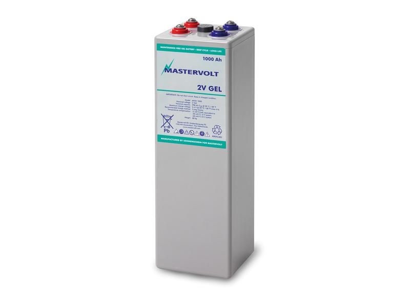 MVSV 1000 Ah - 2V / 1000 Ah MVSV Gel Battery