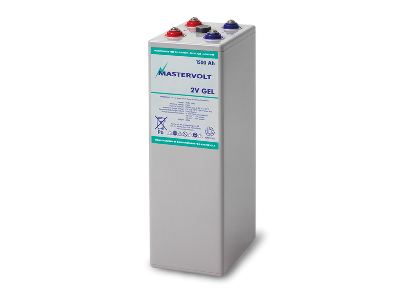 MVSV 1500 - 2V / 1500 Ah MVSV Gel Battery