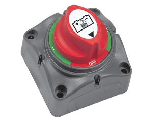 701S - Mini Battery Selector Switch 1-2-Both-Off