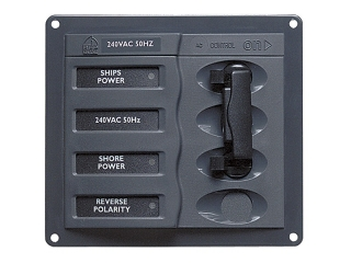 900-ACCH - AC Circuit Breaker Panel without Meters, 2DP AC230V