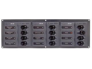 902NMH – Quadro Elétrico DC Horizontal de 12 Disjuntores