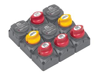 719-140A-DVSR Sistema de Gestão de Carga de Baterias p/ 3 Motores fora de bordo e 4 Baterias