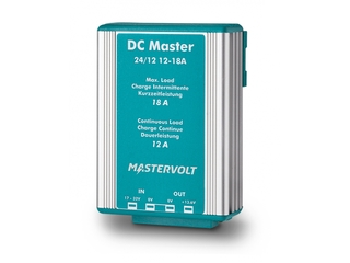 DC Master 24/12-12 – Stabilized Non-Isolated 24/12V | 12 A DC-DC Converter