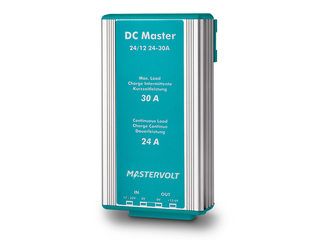 DC Master 24/12-24 – Stabilized Non-Isolated 24/12V | 24 A DC-DC Converter