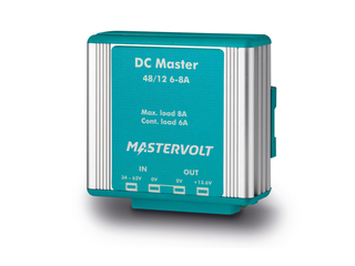 DC Master 48/12-6 – Stabilized Non-Isolated 48/12V | 6 A DC-DC Converter
