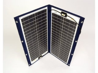 TX-22052 - Painel Solar de 100Wp e 12V, Desdobrável c/ Moldura Têxtil
