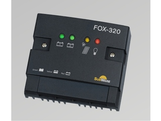 FOX-320 Solar Charge Regulator up to 20 A for 2 Battery Systems