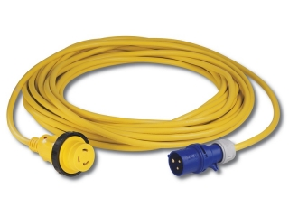 15MSPPXP -15 meter 16A 230V Locking Shore Power Cordset with European Main Site Plug