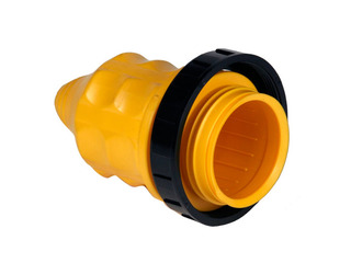 Protetor à prova de água com anel de aperto para ficha de 16A