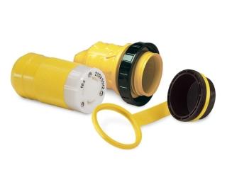 199114 - Kit para 16A com ficha fêmea, protetor e tampa à prova de água