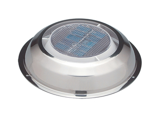 "MiniVent 1000 – 3"" Solar Exhaust Vent. Stainless-steel."