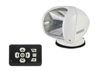 SPL-12W Spotlight –Remote Controlled Precision Spotlight Beacon. White