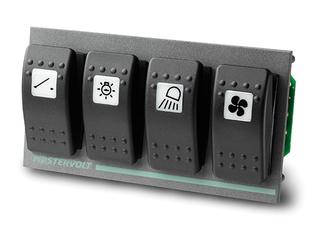 Entrada Digital 4 (para 4 disjuntores Carling em painel S-3- F4