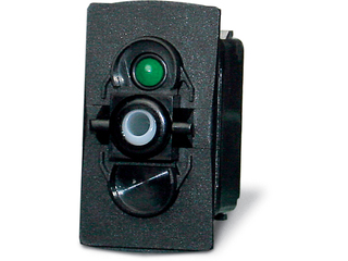 15A - 10/30 V Waterproof switch, on/off 1p