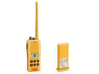 IC-GM1600E + BP-234 - Pack Rádio Portátil de VHF Marítimo de Emergência com bateria BP-234