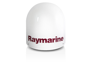 Radome (vazio) de Antena de TV Raymarine 33STV com base incluída