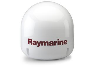 Radome (vazio) de Antena de TV Raymarine 37STV com base incluída.