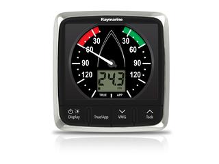 Display de instrumentação analógico e digital i60 Wind ampliado de 20° a 60°