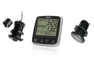 i50 Tridata Pack, with P120 & P19 Speed/Temp/Depth Through Hull Transducers