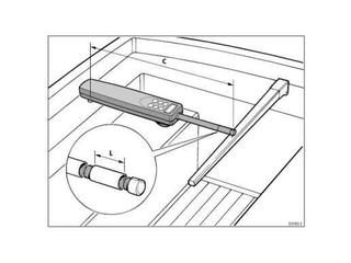 Extensor de haste para drive - 51mm (2