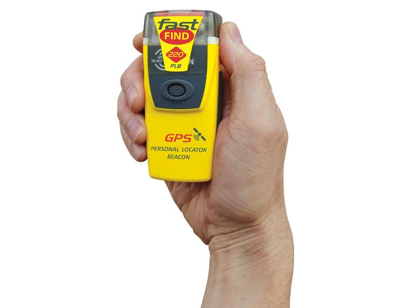 FastFind 220 c/ GPS - Radiobaliza PLB