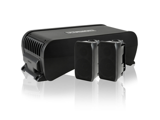 MS-AB206 - Active Subwoofer with in-built 4 Channel Amplifier