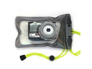 Mini Camera Case 428 - Waterproof Camera Case w/ Hard Lens for Compact Cameras